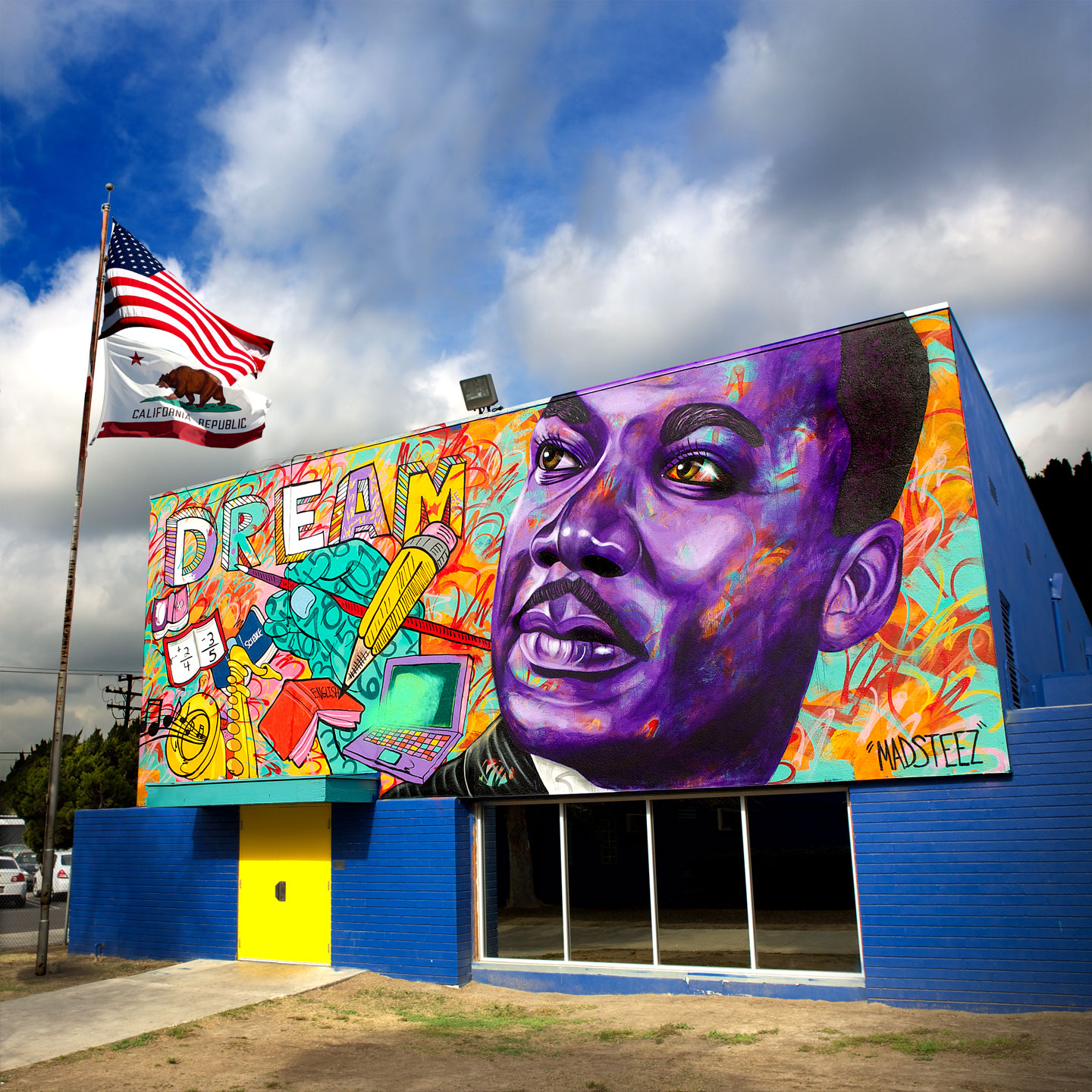 Martin Luther King Elementary - Branded Arts